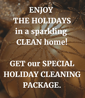 Home Maid Clean Holiday domestic cleaning package