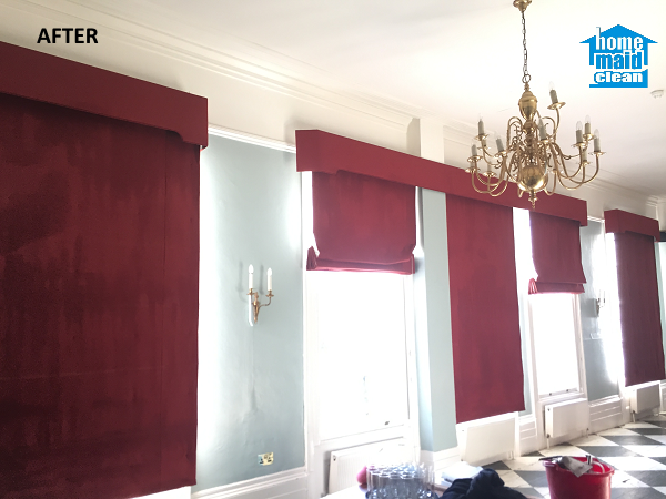 how to clean curtains with steam cleaner