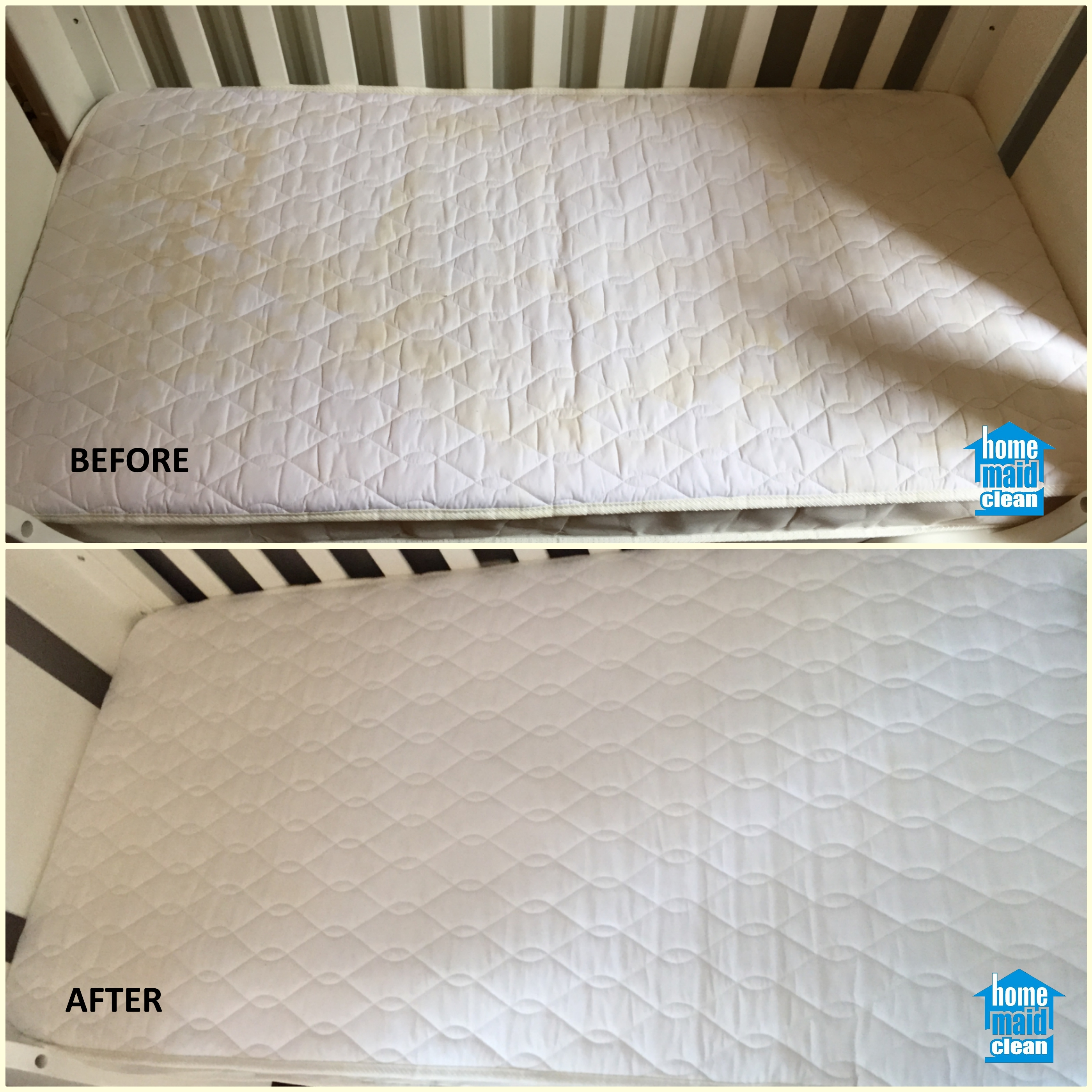 baby cot steam cleaning