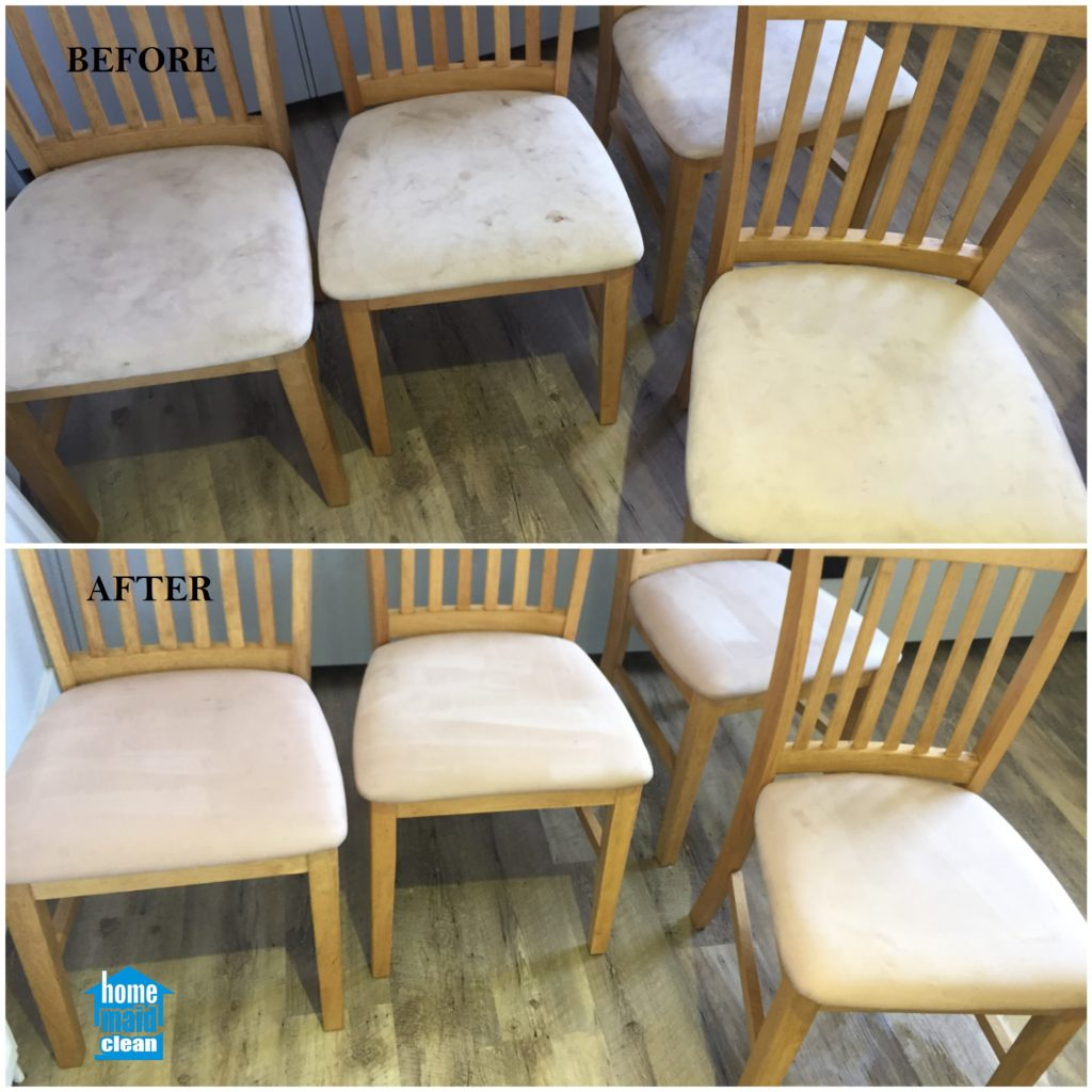 Upholstery spring cleaning