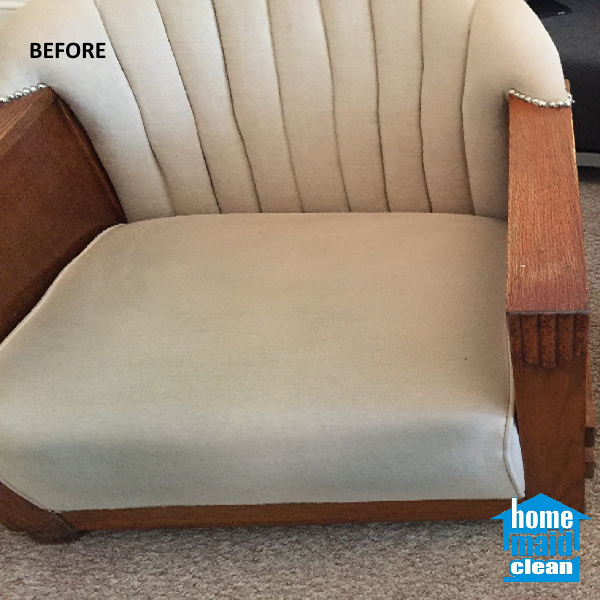 cleaning upholstery stains