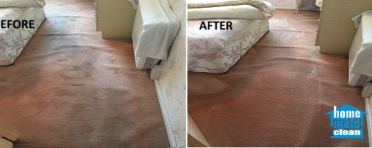 Flooded carpet cleaning in Wimbledon, SW19