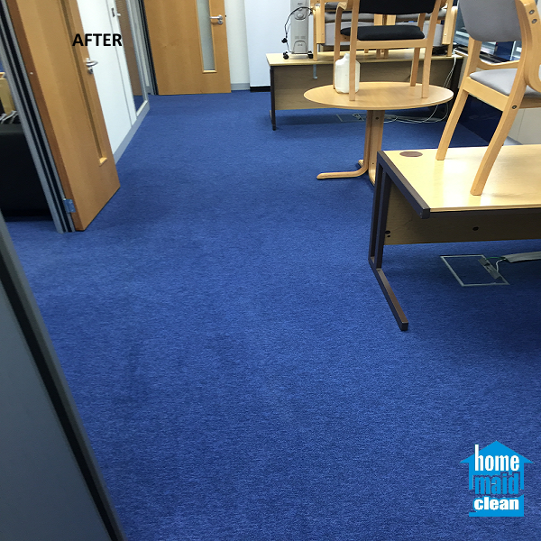 stained office carpet cleaning