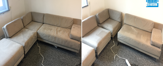 End of tenancy cleaning and velvet sofa cleaning service in St Katharine Docks