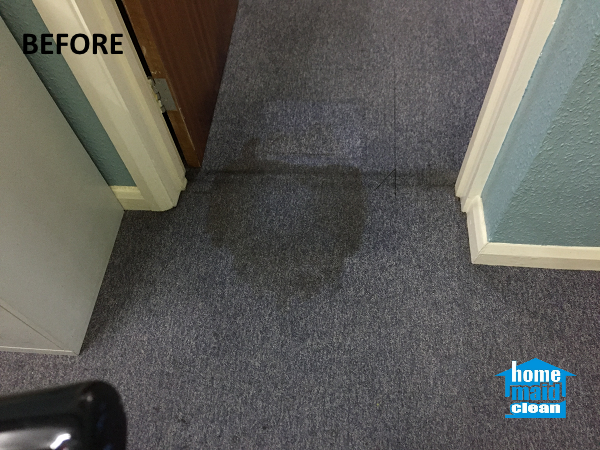 cleaning stained office carpets