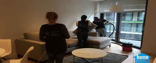 End of tenancy cleaning of a property in Nine Elms, London SW8