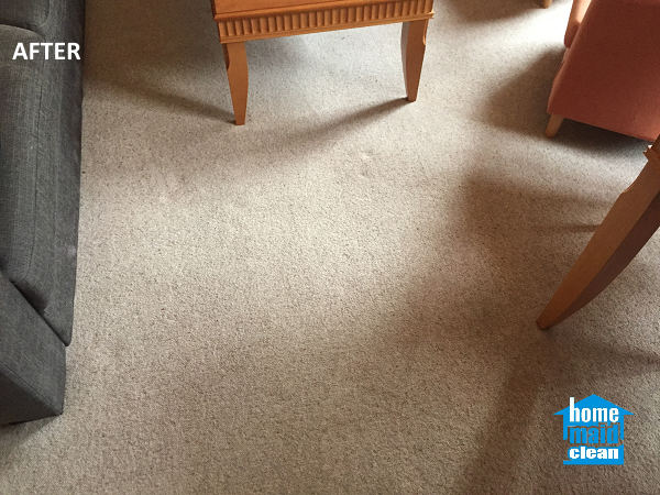 wine-stained carpet cleaning
