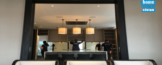Professional move-in cleaning in a renovated maisonette in Mayfair, London W1S