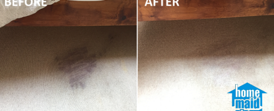 Beetroot carpet stain removal in Canary Wharf, London E14
