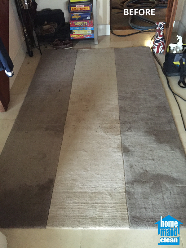 stained carpet steam cleaning