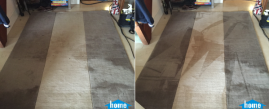 Stained carpet steam cleaning in Liverpool Street, London EC2