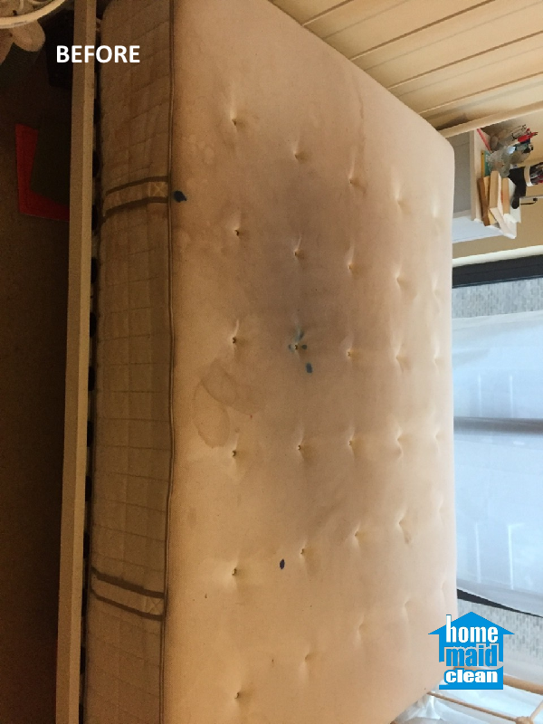 stained mattress cleaning